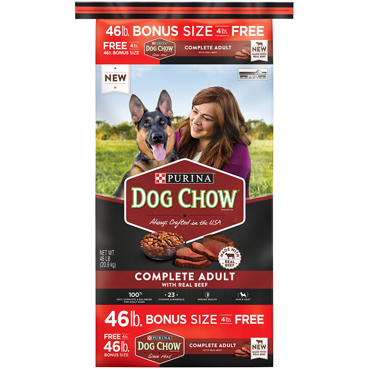 Purina Dog Chow Complete Made with Real Beef Adult Dry Dog Food picture